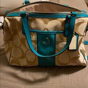 Coach Purse Sis Satchel